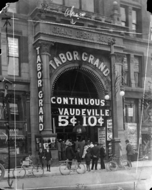 Tabor Grand, 1920. Gone.