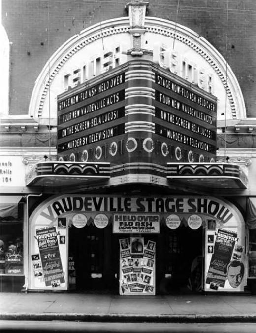 Center Theater, 1910