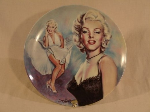Marilyn Monroe Collector Plate