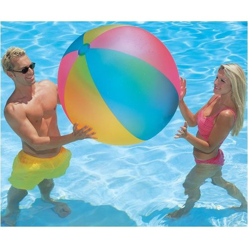 #28 Beachballs are just so colorful and FUN!