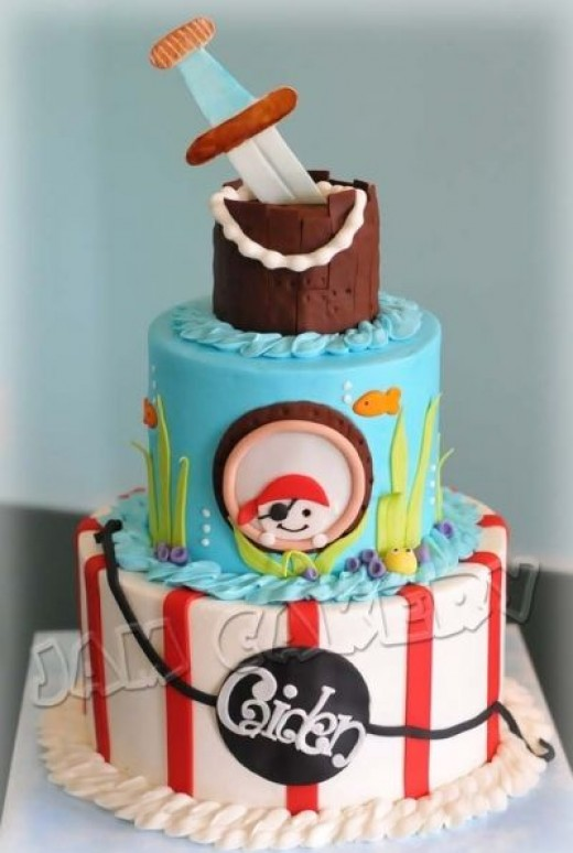 Pirate Cake Inspiration