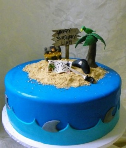 Pirate Cake Inspiration #2