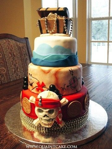 Pirate Cake Inspiration #5