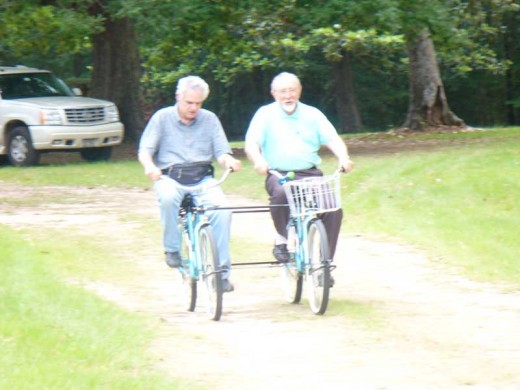 #70 Going for a Bike Ride with a Friend