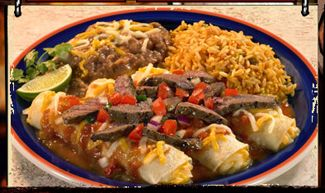# 77 Having Lunch at Don Pablos with a $5.00 off Coupon!
