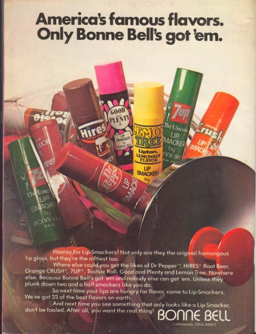 #93 Blast from the Past Bonne Bell Lipsmackers!