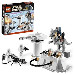 Lego Star Wars Hoth Echo Base Attack!