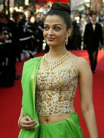 Aishwarya Rai Navel Show Photos