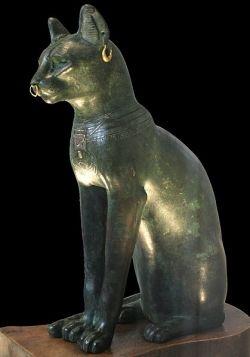 Cat God or Alien?