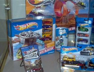 Showcase of Hot Wheels