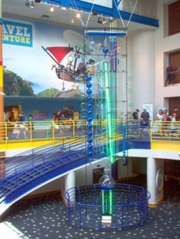 The world's largest water clock.