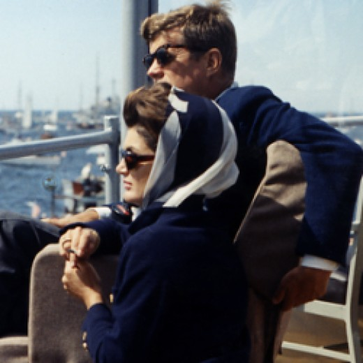 Jackie O and President Kennedy