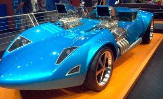 The very first hot wheel life-size creation.