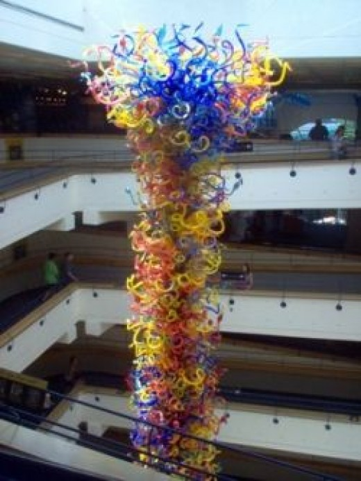 Fireworks of Glass: Indianapolis Children's Museum