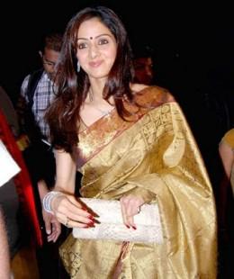 Sridevi Is In Sarees-4