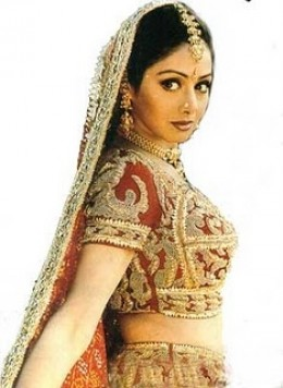 Sridevi Is In Sarees-8