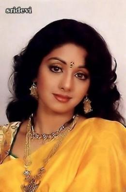 Sridevi Is In Sarees-10