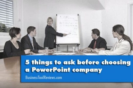 5 things to ask powerpoint company