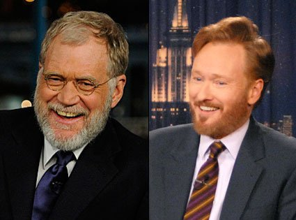 Letterman and O'Brien (Hmmm? Probably not!)