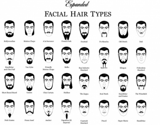 beard design ideas facial hair styles 3 sketch coloring page - Beard Design Ideas