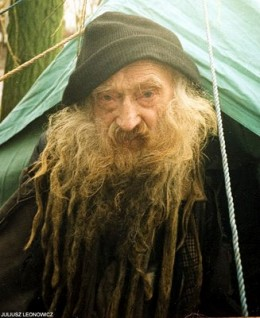 The homeless dread look!