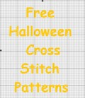 Free Cross Stitch Patterns Perfect for Halloween