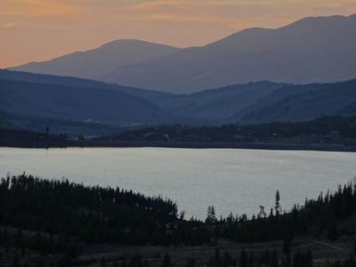 Sunset in Keystone, CO
