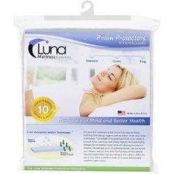 Luna Premium Hypoallergenic Bed Bug Proof Zippered Waterproof Pillow Protector