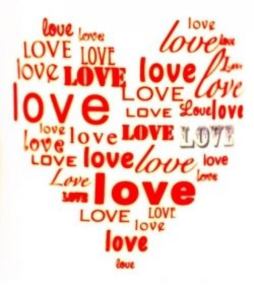 This wonderful clip art is called Heart of Love.