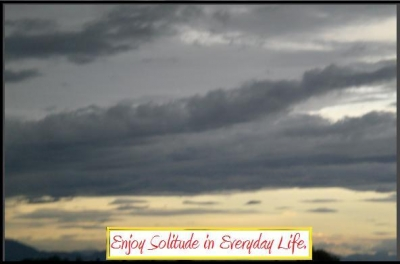 Enjoying Solitude with Nature
