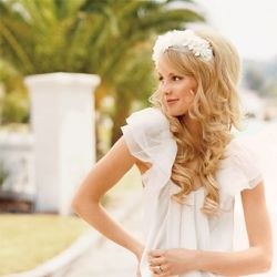 Wedding Hairstyles with Curls