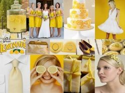 Yellow Wedding Color Scheme