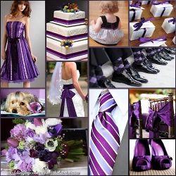 Purple Wedding Color Schemes
