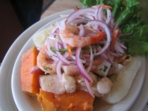 Ceviche Peruano, the original and the best.