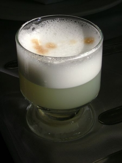 A Peruvian Pisco Sour