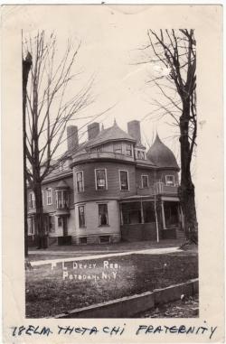 Historic Dewey residence, Potsdam NY
