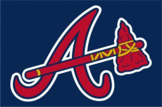 Atlanta Braves Hat Logo via Chris Creamers Sports Logos