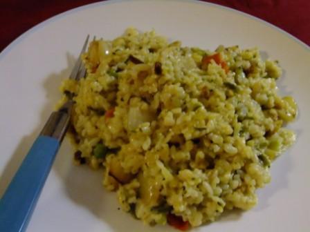 Vegan version of the original Bulgar Wheat Risotto recipe