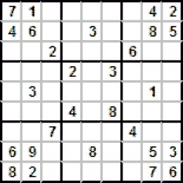 A typical Sudoku