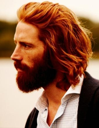 Gorgeous Bearded Redhead Man