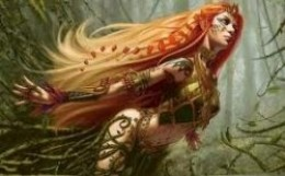red head fantasy art