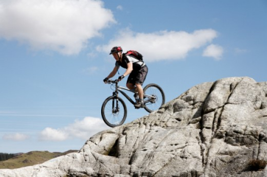 Like Business Mountain Biking has it's Ups and Downs