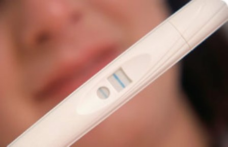 A home test will tell you you're pregnant!