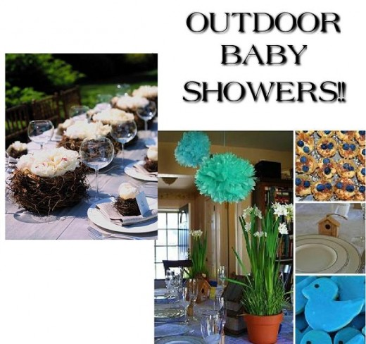 Baby shower food ideas baby shower ideas outside for Backyard baby shower decoration ideas