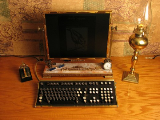 Steampunk Desktop CC BY-SA 2.0 By vonslatt