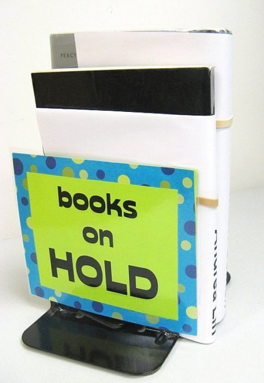 Bookend Sign-Caps