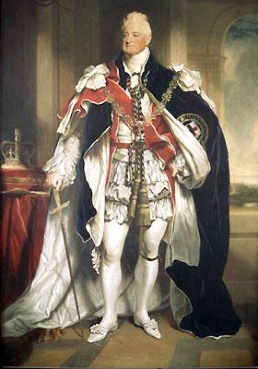 King William IV - ruled from 1830 to 1837  (public domain photo from Wikipedia  http://en.wikipedia.org/wiki/List_of_British_monarchs)
