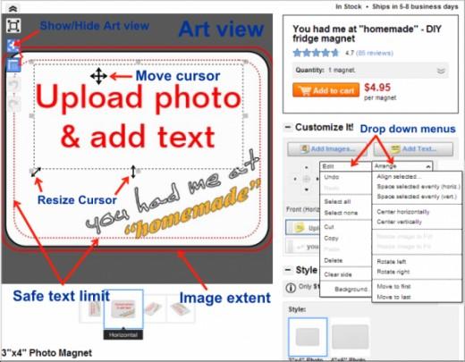 zazzle-artview-drop-menus-anotated