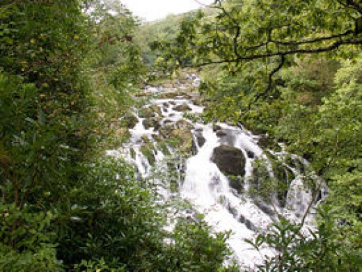 Swallow Falls Snowdonia National Park