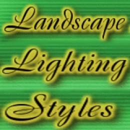 Landscape Lighting Styles